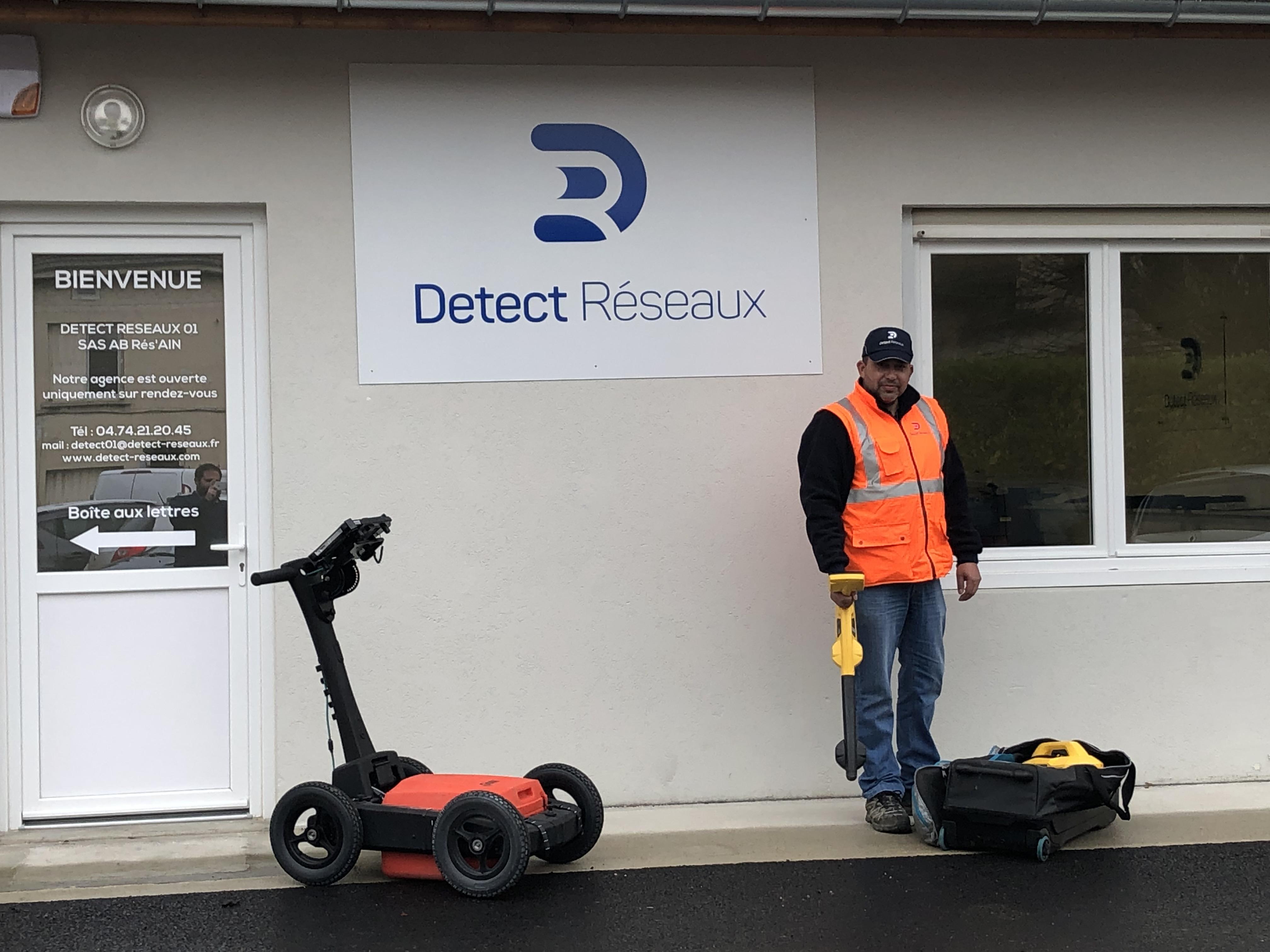 Détection de réseaux dans l'Ain à Bourg-en-Bresse