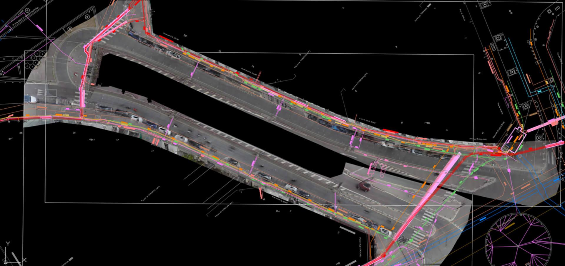 Extension du Tram T3 de la Ville de Paris par Detect Réseaux